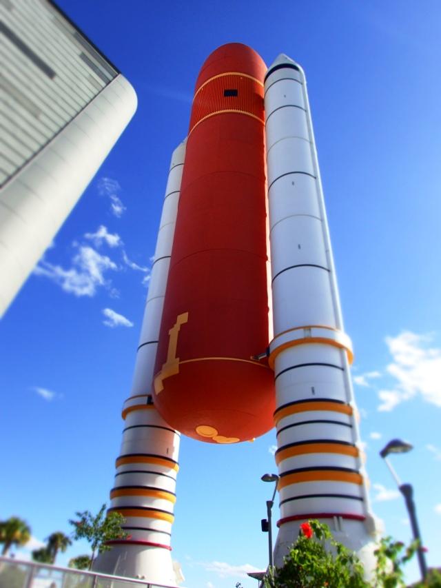 space shuttle Atlantis exhibit, kennedy space center, florida, the greener bench blog