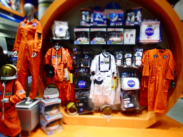gift shop, kennedy space center visitors complex, florida, the greener bench blog
