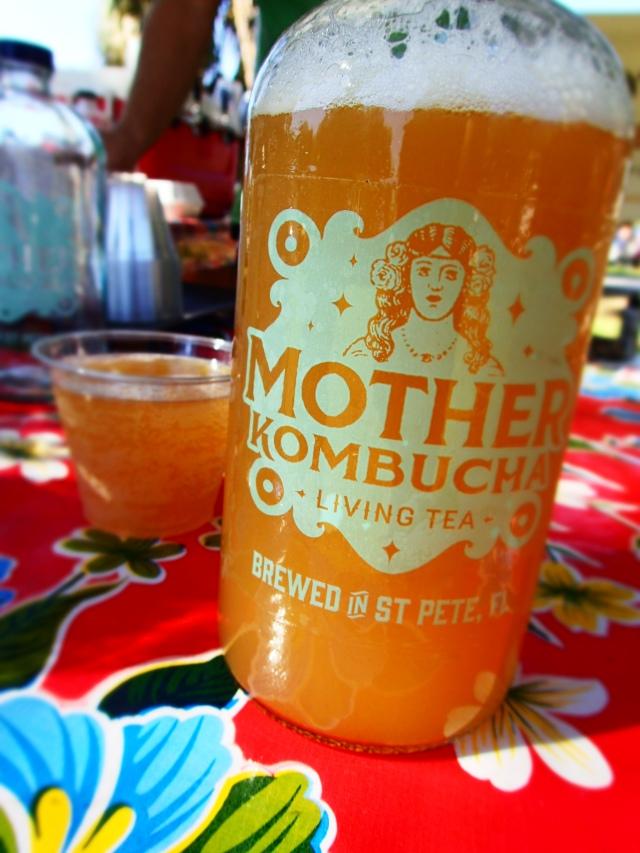 mother kombucha growler, circus mcgurkis, st Petersburg, florida, the greener bench blog