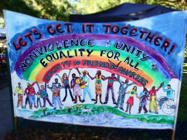 circus mcgurkis sign, quakers, st Petersburg, florida, the greener bench blog