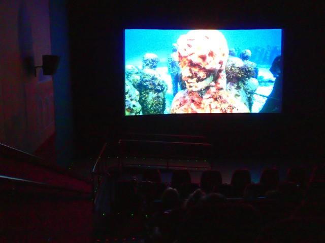 angel Azul movie, blue ocean film festival, st Petersburg, florida, the greener bench blog