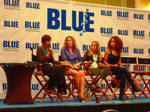 blue ocean film festival panel discussion, kip evans, Danni Washington, ed Begley jr, Pamela longobardi, jj Kelley, asher jay, the greener bench blog